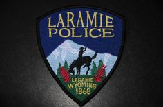 Laramie Police Patch, Albany County, Wyoming