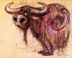 Image result for dainius sukys Animal Paintings, Animal Drawings, Art Drawings, Cartoon Cow, Sketches Of People, Painting Patterns, Cute Little Things, Graphic Illustration, Comic Art