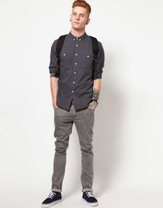 This shirt by Two Square has been styled with slim jeans.