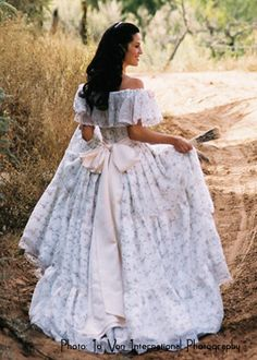 A true Southern Belle Dress
