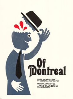 of-montreal Poster by F2 Design