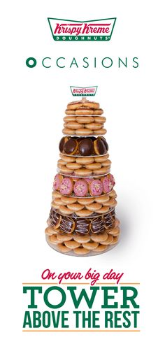 Boho Loves: Krispy Kreme Occasions – A Sweet Idea for your Alternative Wedding Cake