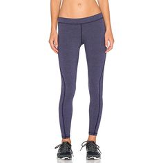 James Perse Yosemite Spiral Seam Yoga Pant Activewear ($105) ❤ liked on Polyvore featuring activewear, activewear pants y james perse