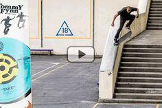 Tommy Fynn es oficialmente Pro para Stereo Skateboards y aunque ya hemos visto increibles trucos de él, se queria presentar con una pedazo de parte como esta.