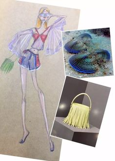 Design #20 of my 30 Days of November Designing with Meli Melo bags as a base of inspiration