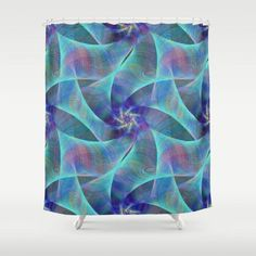 Confusion shower curtain