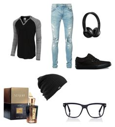 """""""casual day 01"""" by geishauno on Polyvore featuring LE3NO, AMIRI, Vans, Burton, Beats by Dr. Dre, Tom Ford, Xerjoff, men's fashion and menswear"""