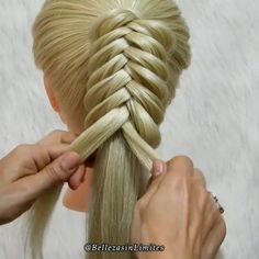 Easy Hairstyles For Long Hair, Braids For Long Hair, Braided Hairstyles, Braids Easy, Rock Hairstyles, Hair Upstyles, Types Of Braids, Natural Hair Styles, Long Hair Styles