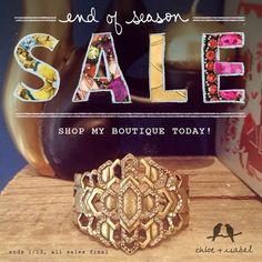 Fabulous sale online at www.chloeandisabel.com/boutique/jennschloeandisabel