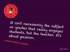 Students say it best :)  @edutopia
