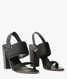 Textured Sandal for fall
