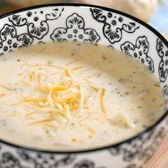 5 Ingredient Broccoli Cheddar Soup