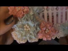 Tutorial for Diemond Dies Sugarplum Flowers - YouTube