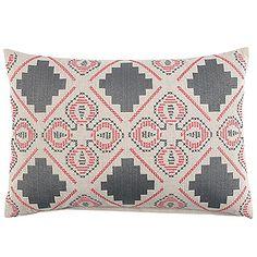 John Robshaw Blockprint Dusty Decorative Pillow