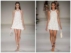 Tendências Verão 2016 – Branco é destaque na SPFW