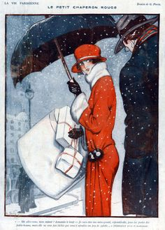 Inside illustration from the magazine La Vie Parisienne, 1923
