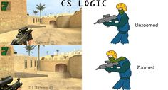 Counter Strike: Logic Fun via Reddit user ColdStoryBro