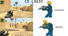 Counter Strike: Logic Fun via Reddit user ColdStoryBro