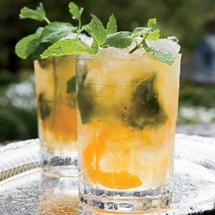 Bobby Flay's gingery take on a classic mint julep cocktail is fresh and lively.