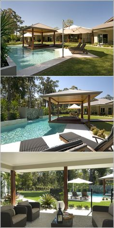 Outdoor Area and Pool