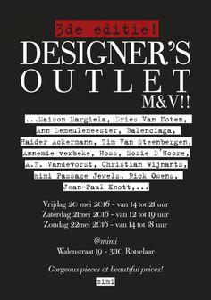 3de Designers Outlet M&V -- Rotselaar -- 20/05-22/05