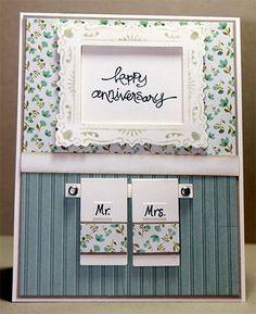 Happy Anniversary - just too cute!