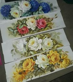 Fabric Painting On Clothes, Decoupage Printables, Acrylic Painting Lessons, Decoupage Vintage, Oil Painting Flowers, Pencil And Paper, Watercolor Art, Art Decor, Decorative Boxes
