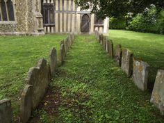 Crowfield churchyard and church