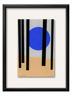 Moon in Black Forest by Jerry Kott (Framed) by The Art Studio at Gilt