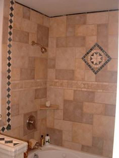 bathroom shower tile photo