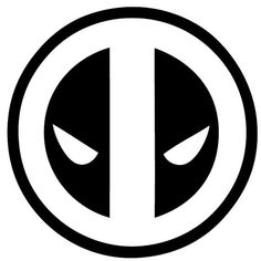 Deadpool Logo Vinyl Decal Wall Art by BadFishDecals on Etsy
