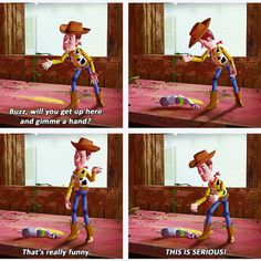 Toy Story - It's a bit ridiculous how much I love this movie.