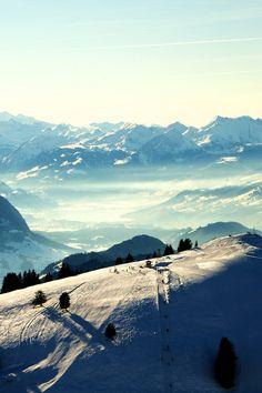 VIew from Rigi, Canton of Schwyz, Switzerland