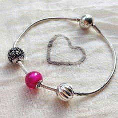 Pandora essence bracelet from silver (health...)