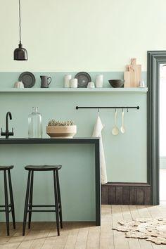 Peinture Little Greene : nouveau nuancier - Trend Pins Peinture Little Greene, Little Greene Paint, Interior Design Kitchen, Kitchen Decor, Kitchen Ideas, Kitchen Inspiration, Kitchen Hooks, Interior Plants, Kitchen Trends