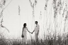 Sarah and Joseph got married on Siesta Beach, Florida