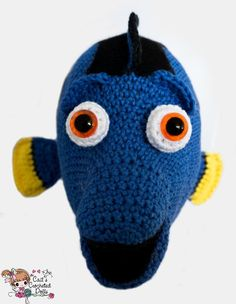 (4) Name: 'Crocheting : Finding Dory doll