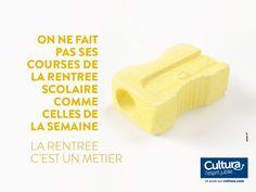 """""""La rentrée, c'est un métier"""", par St John's pour Cultura. 2014. 2."""