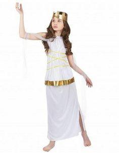 #Costume da dea greca per bambina 4 a 6 anni  ad Euro 14.99 in #Kelkoo #Maschere e costumi