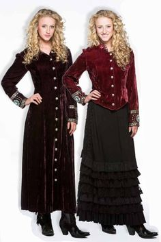Double D Ranch - Double D Ranch velvet, DD Ranchwear velvet, cowgirl apparel, ladies western apparel, dresses, jackets, tunics, cowgirl fashion