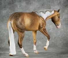 """""""Marty McFly"""" Bobby Jo CM sooty palomino by Mel Miller (Auction ID: 151537, End Time : Oct. 22, 2015 14:04:12) - My Auction Barn"""