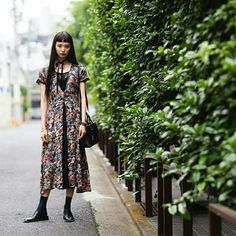 J'ai Perdu Ma Veste / Yuka Mannami – Tokyo // Tokyo Fashion, Cool Street Fashion, Spring Fashion, Girl Fashion, Womens Fashion, Street Style Blog, Fringe Hairstyles, Models Off Duty, Stylish Girl