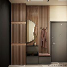 Home Entrance Decor, Entrance Design, House Entrance, Corridor Design, Hall Design, Hall Interior, Apartment Interior, Bathroom Interior Design, Wardrobe Door Designs
