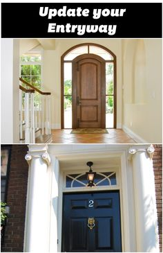 The entrance to your home is its first impression. Click for #tips. #DIY #Door http://bit.ly/1OzUa2V