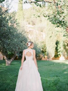 This dress is dreamy: http://www.stylemepretty.com/little-black-book-blog/2015/02/05/organic-al-fresco-mediterranean-wedding-inspiration/   Photography: Mireia Cordomi - http://www.mireiacordomi.com/
