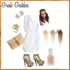 I'm a wannabe Greek goddess, and I will be for Halloween this year.