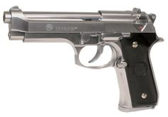 KJW Taurus PT 92 Polymer Gas Blowback Semi Auto Airsoft Pistol - Chrome by Palco Sports. $92.20. KJW Taurus PT 92 Polymer Gas Blowback Semi Auto Airsoft Pistol  Features:  YOU MUST BE 18 YEARS OR OLDER TO BUY ANY AIRSOFT, AIR GUN OR AIR RIFLE IN OUR STORE. It is the consumers responsibility to verify that Airsoft or BB Guns are legal in your state and local jurisdiction. Zephyr Sports is not responsible for guns confiscated by local law enforcement. Adult signature will be...
