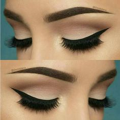 10 Hottest Eye Makeup Looks – Makeup Trends: Natural Smokey Eye with Thick Eyeliner