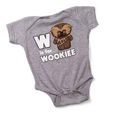 Linda ropa para bebés de Star Wars :D