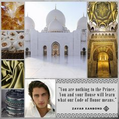 Aesthetic for the character of Zavar, one of Prince Ravel's cousins and an Academy bully.
